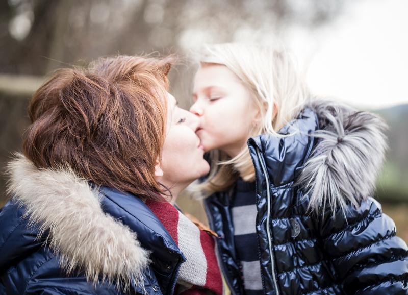 Winterlich – Familienshooting