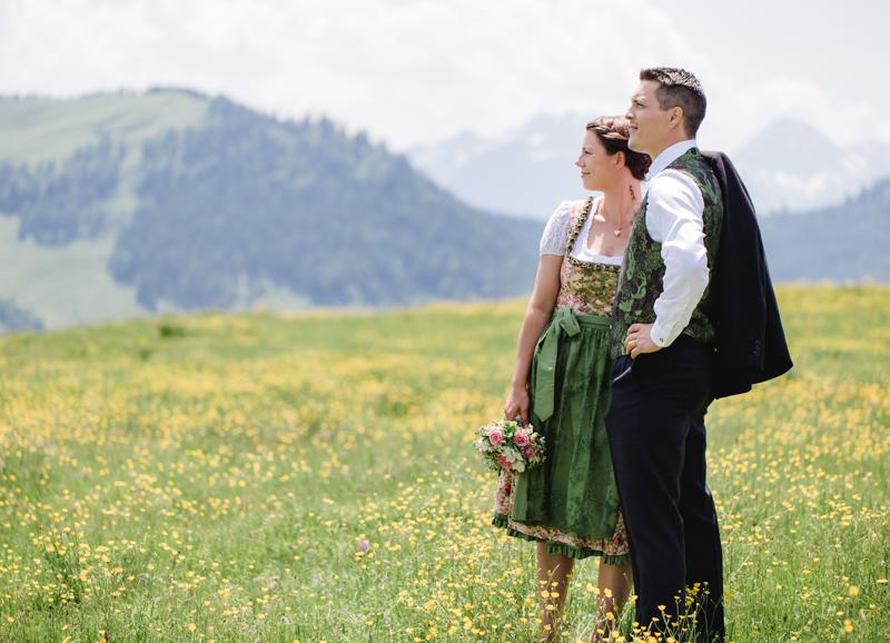 Sandra und Oliver – Hochzeit auf der Alm