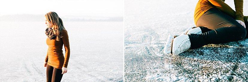 Die Eiskunstläuferin