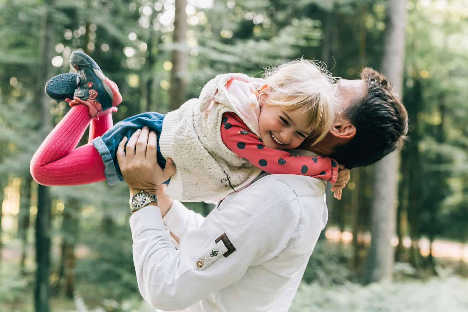Familienabenteuer | Fotoshooting in Salzburg | Wald und Natur
