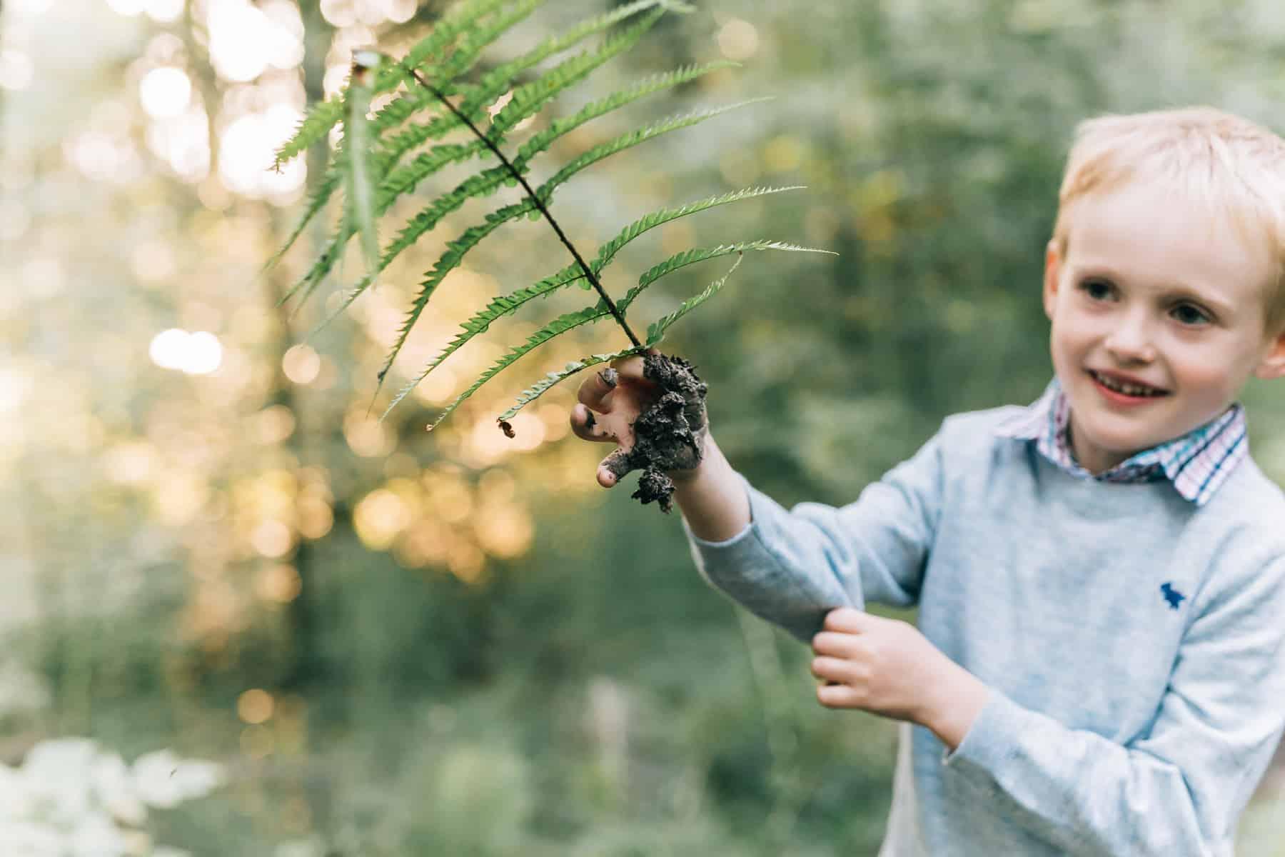 Familienabenteuer   Fotoshooting in Salzburg   Wald und Natur