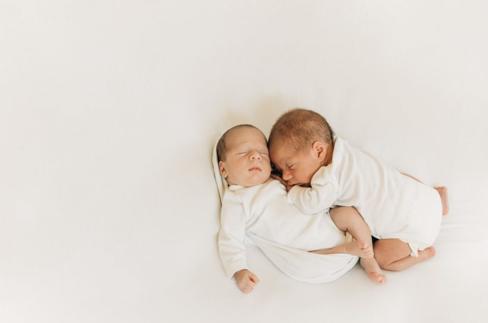 Doppeltes Glück |Zwillingsfotos |Abtenau